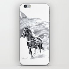 Trotting Up A Storm iPhone & iPod Skin