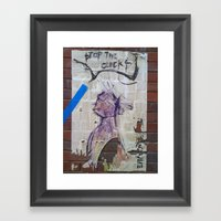 Stop The Clocks Framed Art Print