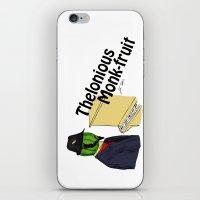 thelonious monk-fruit iPhone & iPod Skin