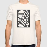 Keymaster Games Mens Fitted Tee Natural SMALL