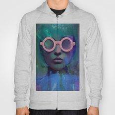 Pink Glasses girl Hoody