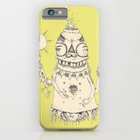 iPhone & iPod Case featuring High Mr Meatbell by siddwills