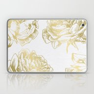 Roses Gold Laptop & iPad Skin