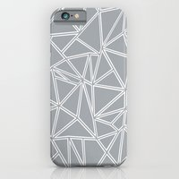 iPhone & iPod Case featuring Ab Blocks Grey #2 by Project M