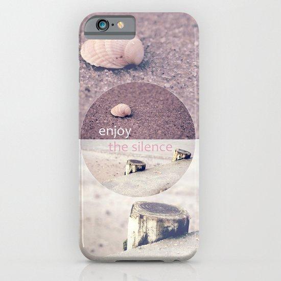 Enjoy The Silence! iPhone & iPod Case