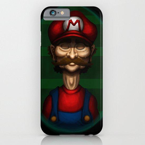 Sad Mario iPhone & iPod Case