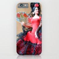 iPhone & iPod Case featuring Flamenco doll  by Marieken