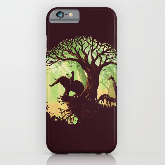 The jungle says hello iPhone & iPod Case