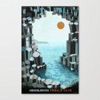 Fingal's Cave Overture -… Canvas Print