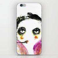 Mme Zuzu iPhone & iPod Skin