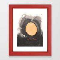 Ring Of Fire Framed Art Print