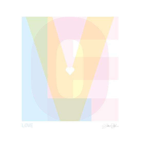 Love Type Canvas Print