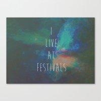 FEST Canvas Print