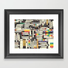 VHS Framed Art Print