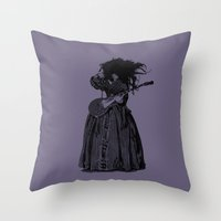 Lilly Page Throw Pillow