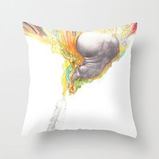 You've Got the Right Attitude! Throw Pillow