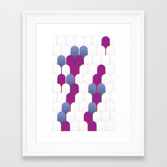 Abstract 14 Framed Art Print