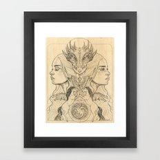Dany Framed Art Print