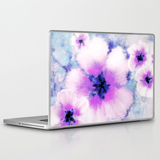 Rose of Sharon Bloom Laptop & iPad Skin