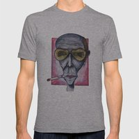 Gonzo Hunter Mens Fitted Tee Athletic Grey SMALL