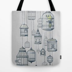 Last Bird in the Shop Tote Bag