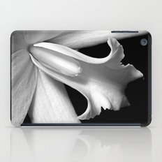 Black and white orchid  iPad Case