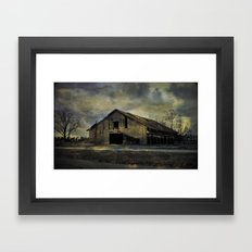 Old Rugged Barn Framed Art Print