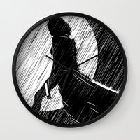 Death Dealer Wall Clock