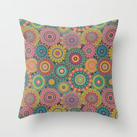 Kaleido-Eden colors Throw Pillow