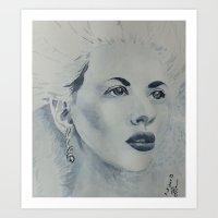 Scarlett Art Print