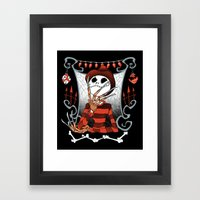 Nightmare King Framed Art Print