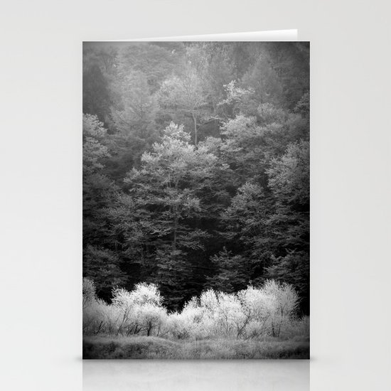 The Forest Keeps Secrets Stationery Card