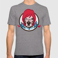 THE BUDDIE x WENDY'S Mens Fitted Tee Tri-Grey SMALL