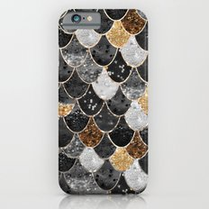 REALLY MERMAID BLACK GOLD iPhone 6 Slim Case