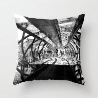 Bridge To Edinburgh, Sco… Throw Pillow
