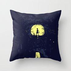 Last Living Throw Pillow