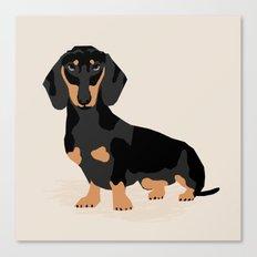 Dachshund Doxie Pet Port… Canvas Print