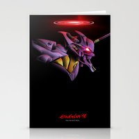 Evangelion Unit 01 - Reb… Stationery Cards