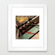 Please Please Me Framed Art Print
