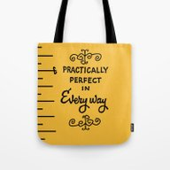 Practically Perfect In E… Tote Bag