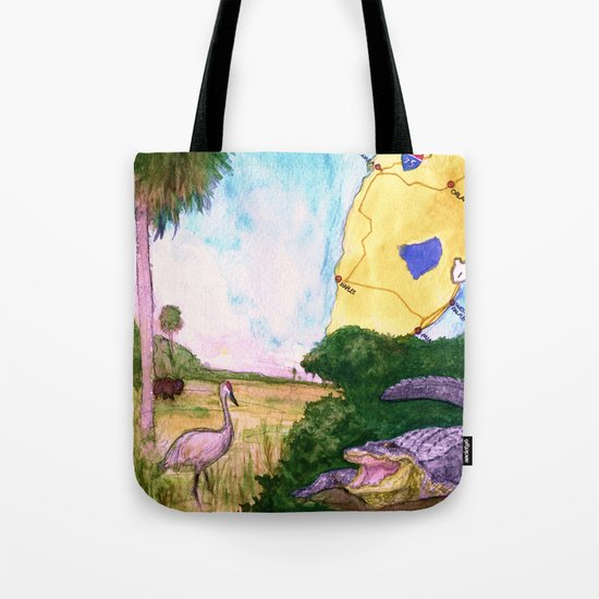 """Gainesville, FL"" by Cap Blackard Tote Bag"