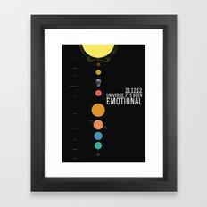 End Of The World? Framed Art Print