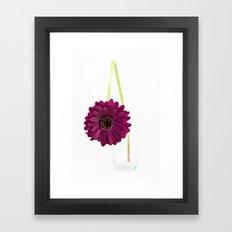 Simply Purple Framed Art Print