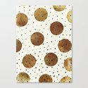 Mixed Dots Canvas Print