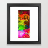 A Glimpse of Happiness  Framed Art Print