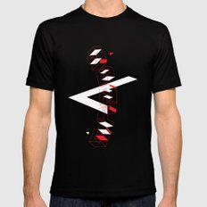 Space Faring SMALL Black Mens Fitted Tee