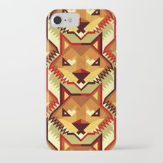 The Bold Wolf pattern iPhone 7 Slim Case