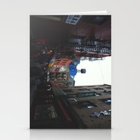 Rainy Day In Chinatown  Stationery Cards