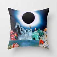 In A Beautiful Place Out In The Country Throw Pillow