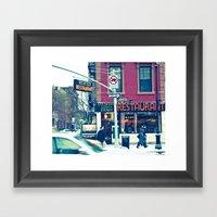 West Village Framed Art Print